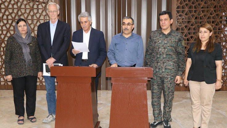 'ABD Rojava'da Kürtlere eşit paylaşım önerdi'