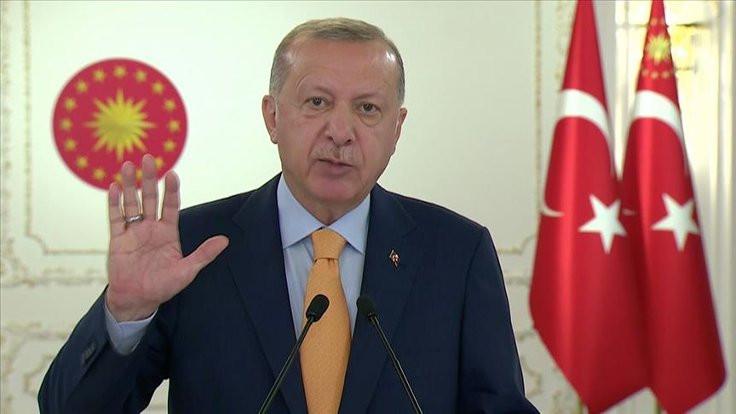 Erdoğan: Aşı, rekabet konusu yapılmamalı