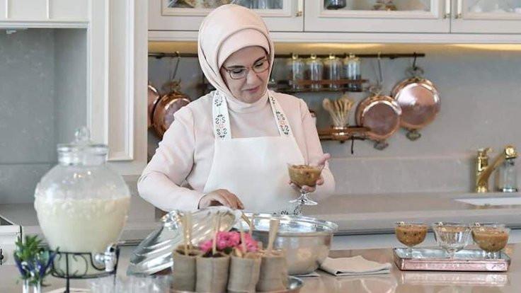 Emine Erdoğan'dan 'gastronomi kitabı'