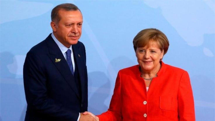 Erdoğan ve Merkel, Doğu Akdeniz'i görüştü
