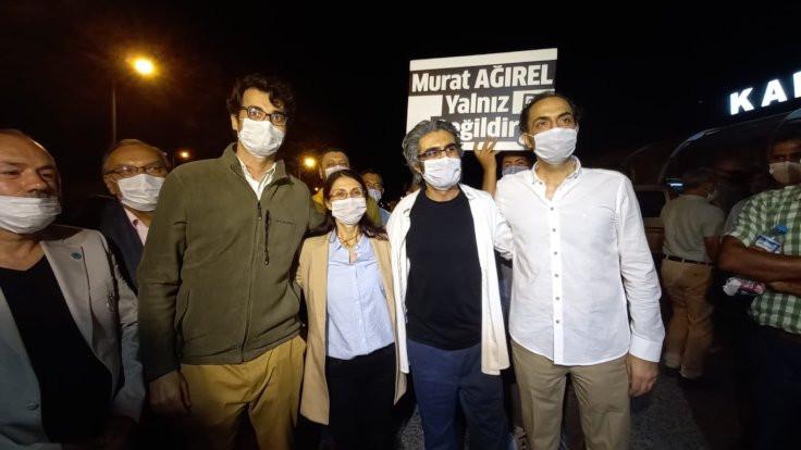 Hülya Kılınç, Barış Pehlivan ve Murat Ağırel tahliye edildi