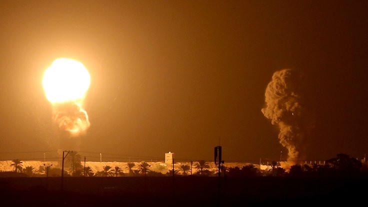Körfez anlaşmaları sonrası Gazze'ye saldırı
