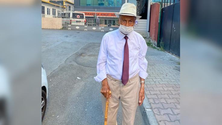 Cemil Çiçek'e hakaretle suçlanan 90 yaşındaki Aydın, serbest bırakıldı