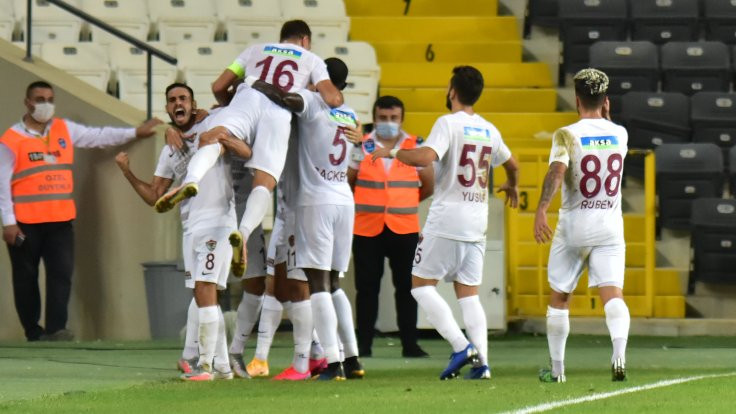 Hatayspor, Başakşehir'i mağlup etti