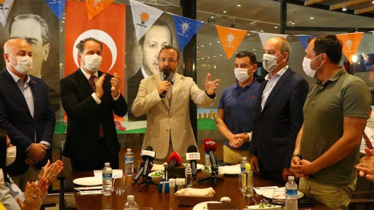DSP'den istifa eden başkan, AK Parti'ye geçti
