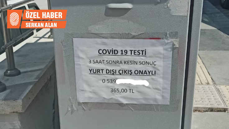 Covid-19 testi 'karaborsaya' düştü!