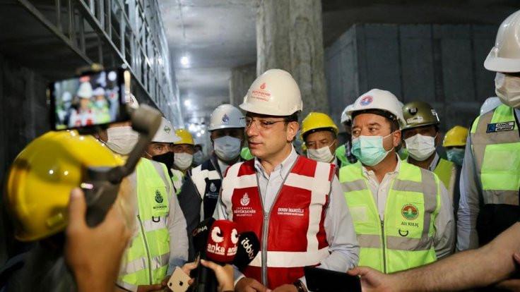 İmamoğlu: Bakanlığın metro hamlesi doğru
