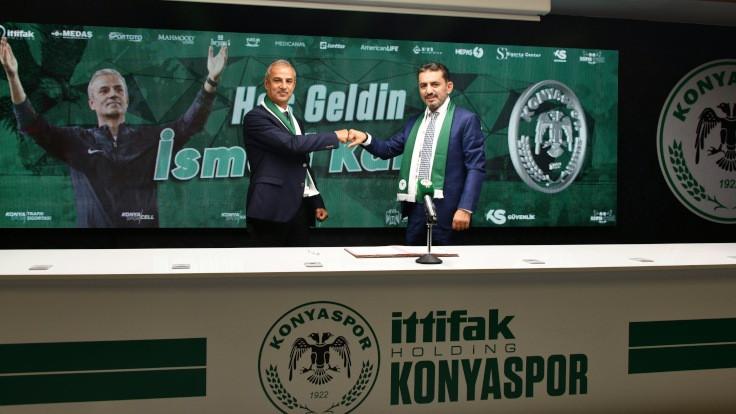 Konyaspor'da İsmail Kartal dönemi