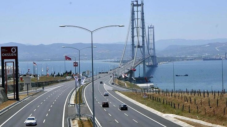 Osmangazi Köprüsü'ne 1,7 milyar lira 'garanti' ödemesi