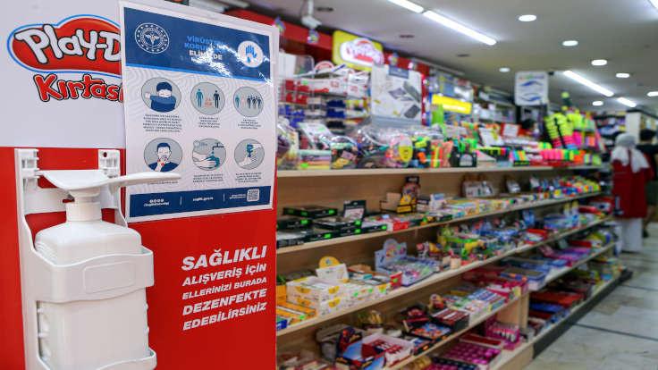 İstanbul'da kırtasiye ürünlerine zam yok