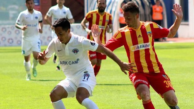 Kayseri Kasımpaşa'yı tek golle geçti