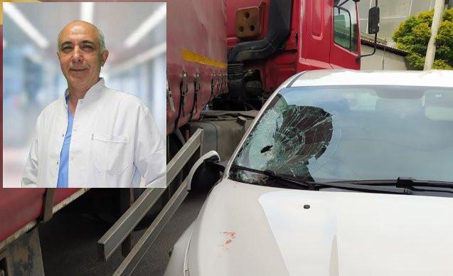 Filyasyon ekibindeki doktor kazada öldü