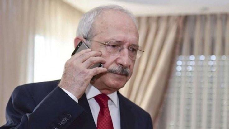 Kılıçdaroğlu'ndan HDP'ye telefon