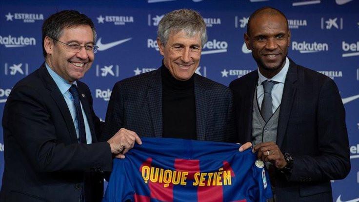 Quique Setien Barcelona'ya dava açacak