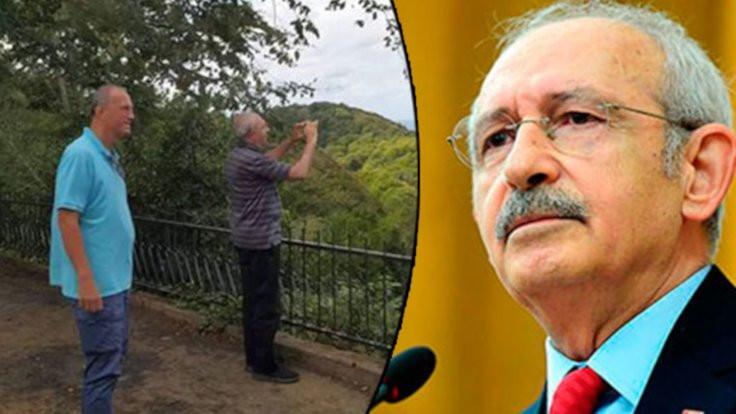 Kılıçdaroğlu tatilini Kandıra'da yapmış