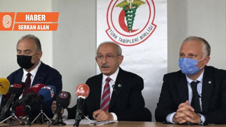 TTB'yi ziyaret eden Kılıçdaroğlu'ndan Bahçeli'ye: Hayatımda duyduğum en saçma söz