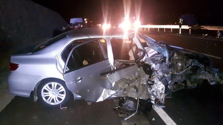 Kovancılar Belediye Başkanı Hacı Akpınar trafik kazası geçirdi
