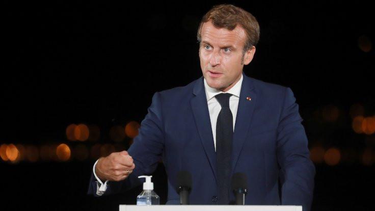 Macron: Türkiye'yle yeniden diyalog kurmak istiyoruz