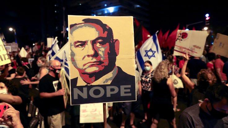 İsrail'de Netanyahu'ya öfke dinmiyor
