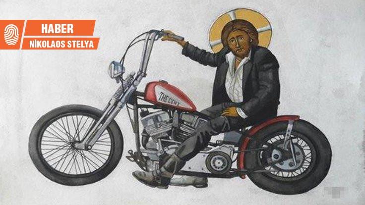 'Motosikletli İsa' Kıbrıs'ta kriz çıkardı