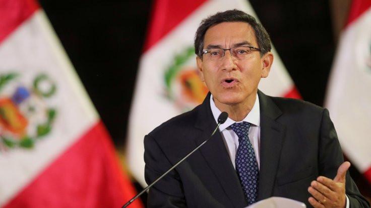 Peru'da Vizcarra için azil soruşturması