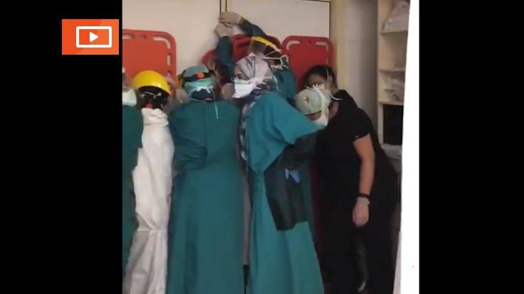 Sağlık çalışanlarına saldırı: Kendilerini odaya kapattılar
