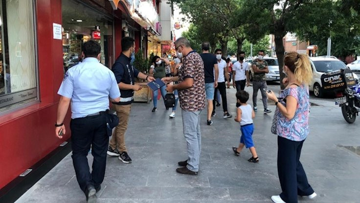 Erzincan'da Covid önlemi: Sokakta sigara yasak