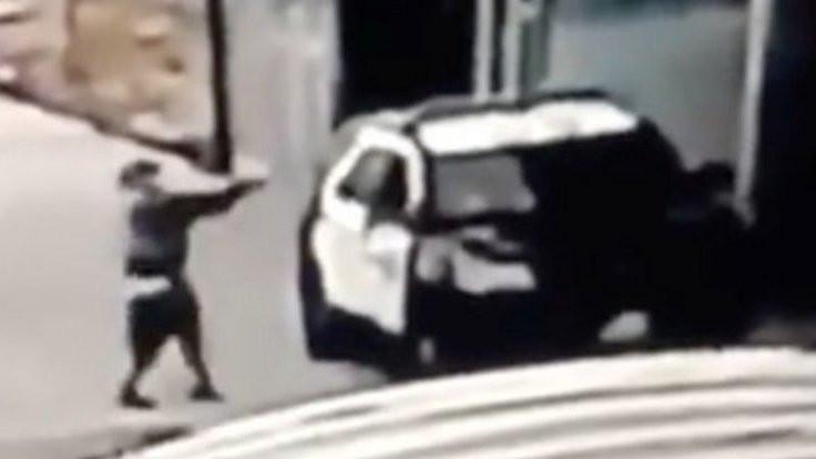 ABD'de polis aracına silahlı saldırı
