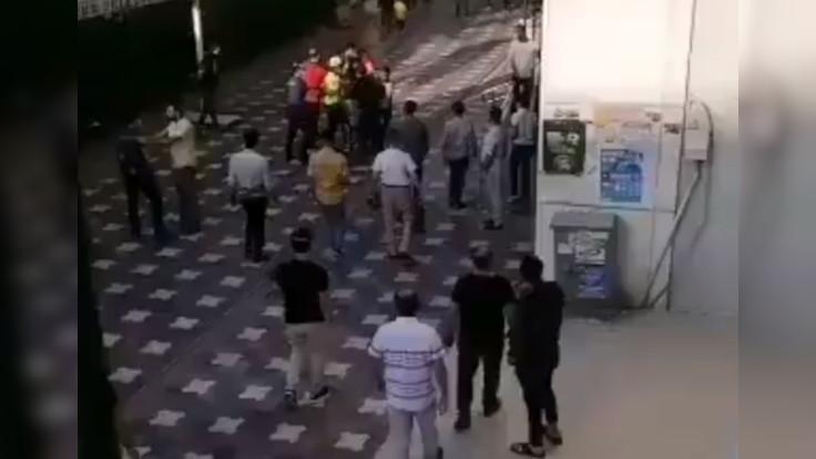 Şırnak'ta maske gözaltısı: Polis havaya ateş etti