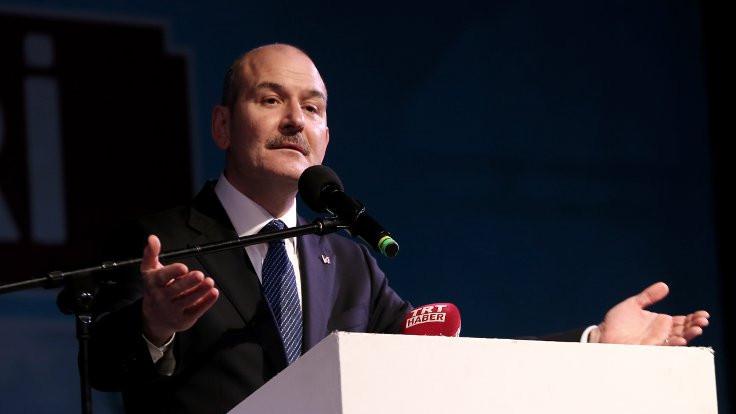 Süleyman Soylu'dan gazeteciye: Berduş