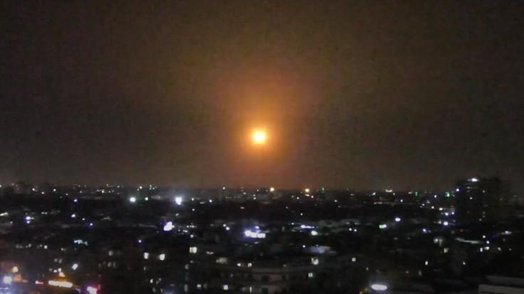 SANA: İsrail Şam'a hava saldırısı düzenledi