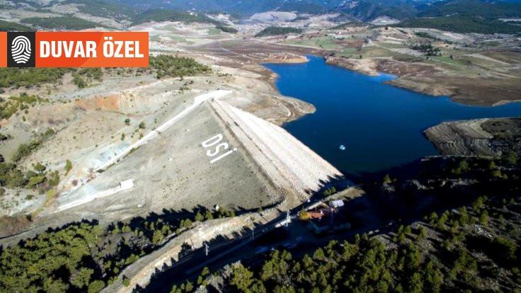 Küçükler Barajı'nda seviye yüzde 15'e geriledi
