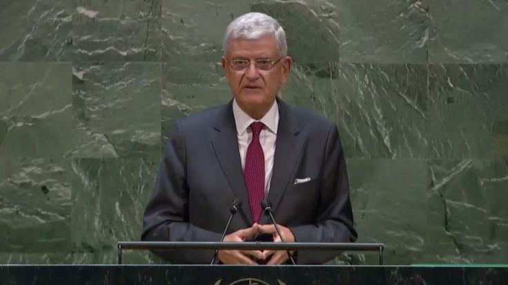 Volkan Bozkır, BM Genel Kurul Başkanlığı görevine başladı