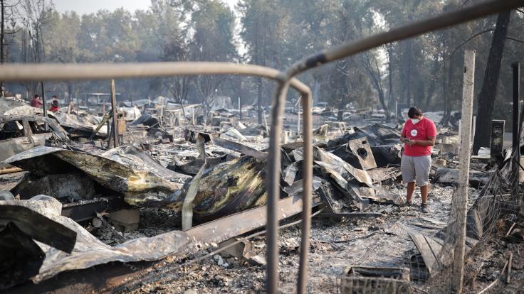 ABD orman yangınları: 'Toplu ölümler bekliyoruz'