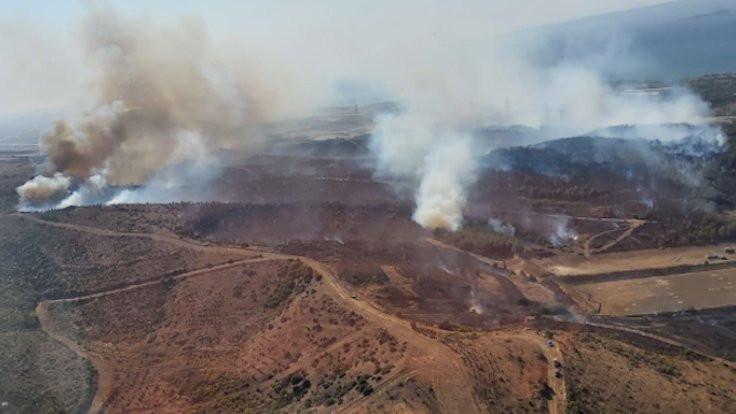 Gelibolu'daki yangın büyüyor