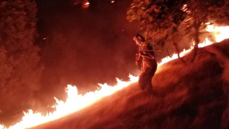 Cudi Dağı yangını için açıklamaya izin verilmedi