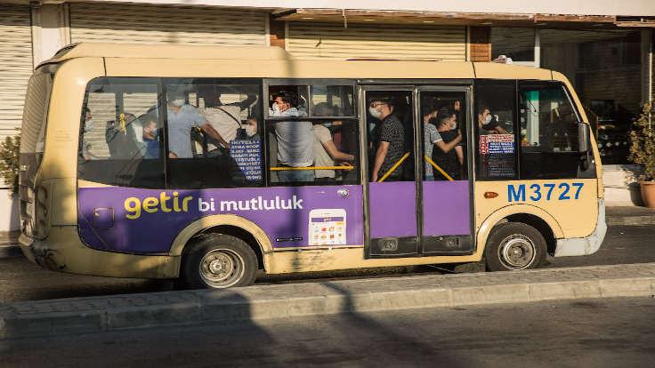 İstanbul'da toplu taşımaya kısıtlama