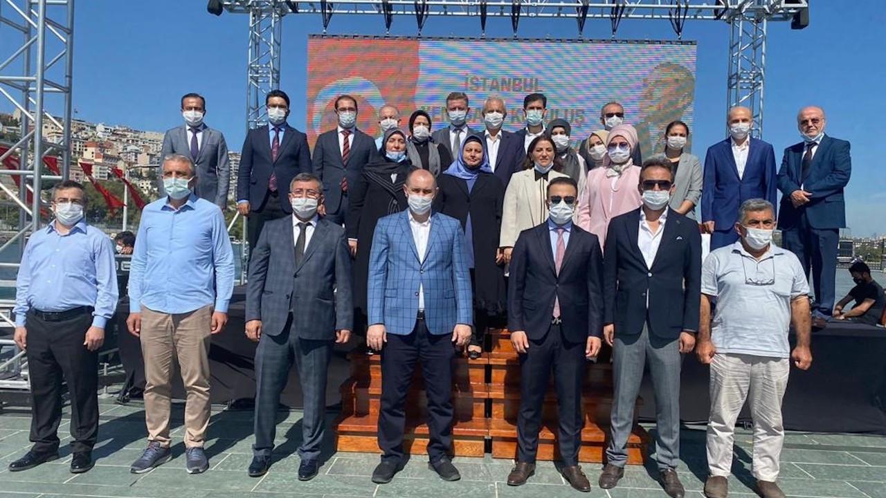 İstanbul'da kurulan ikinci baro başkanını seçti