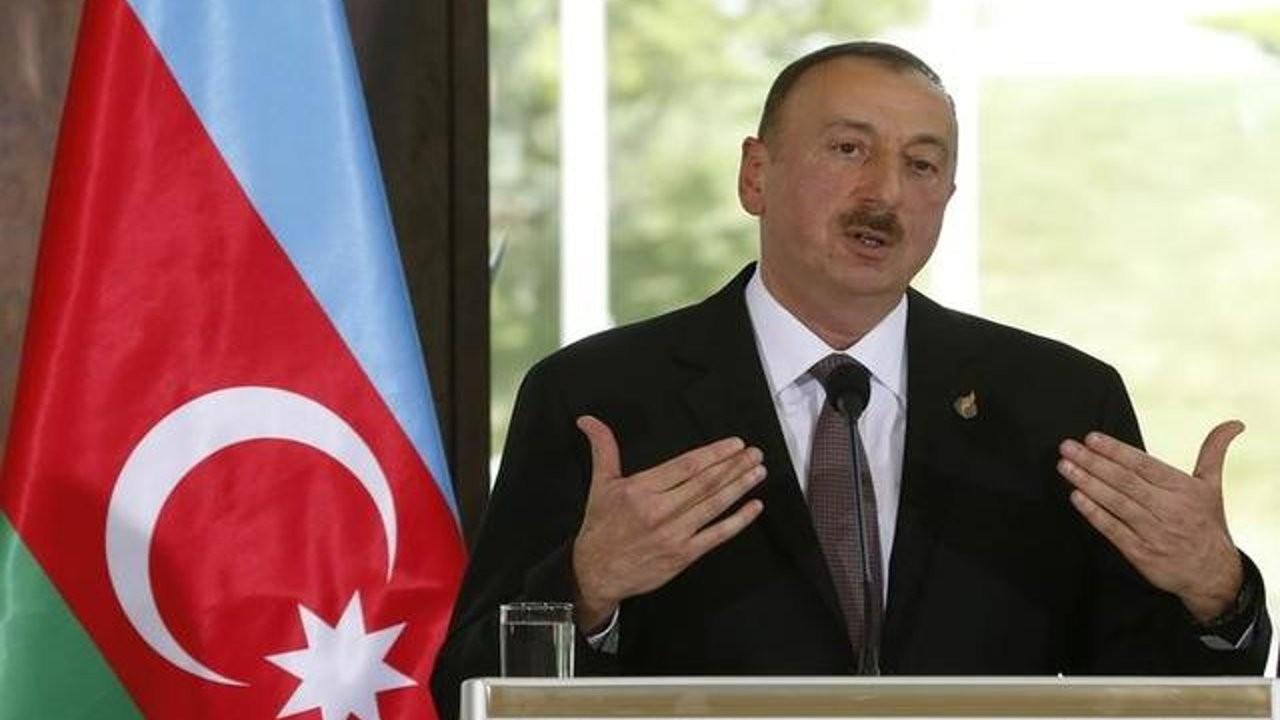 Aliyev'den 'ateşkes' şartı: Ermenistan çekilirse çatışmalar durur
