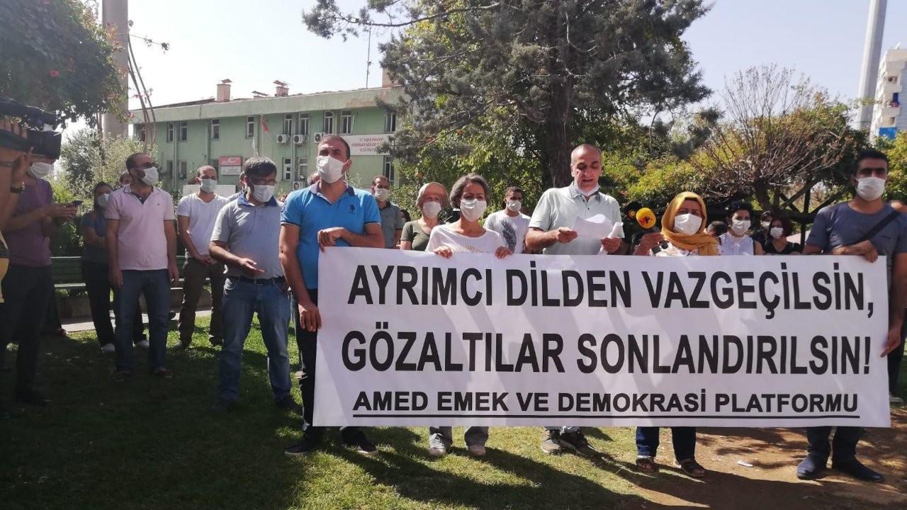 Amed Emek ve Demokrasi Platformu: Barış inşa edilsin