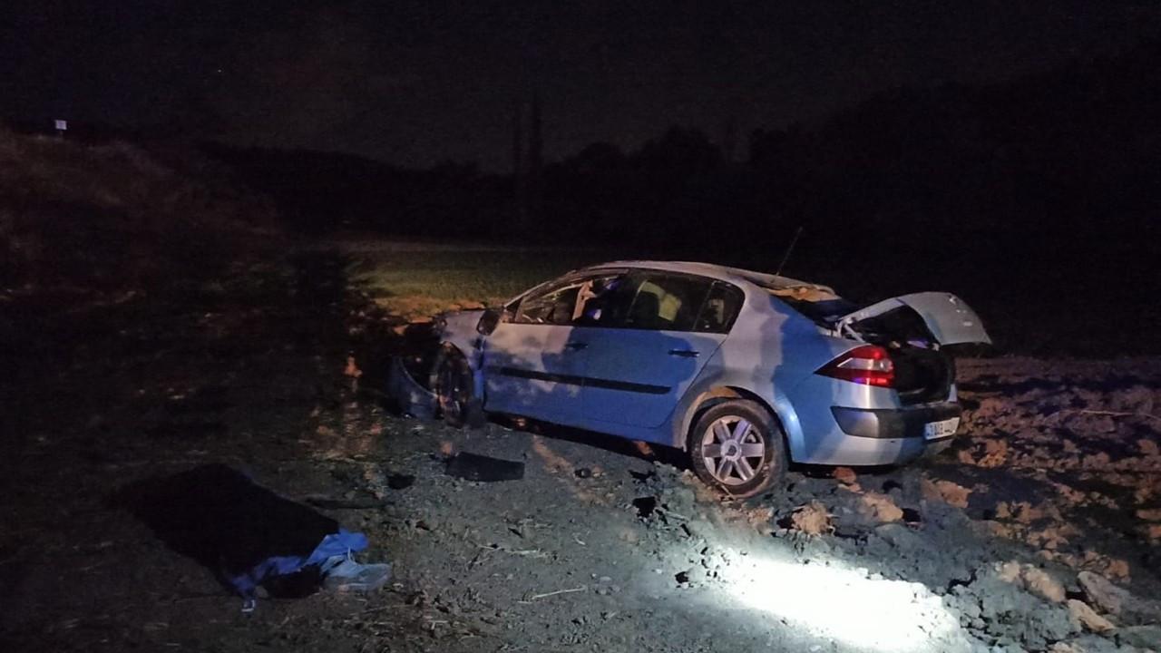 Eşi doğum yaparken kaza yapan sürücü vefat etti