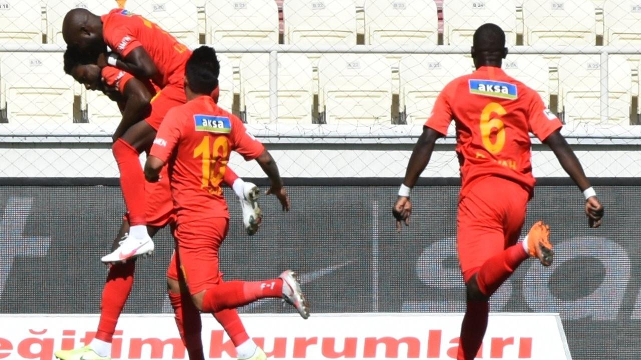 Malatyaspor ilk galibiyetini kazandı