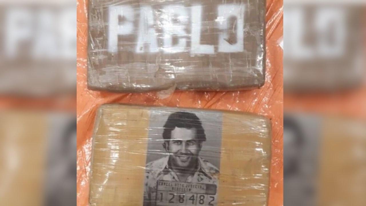 Pablo Escobar'ın uyuşturucuları 'yakalandı'