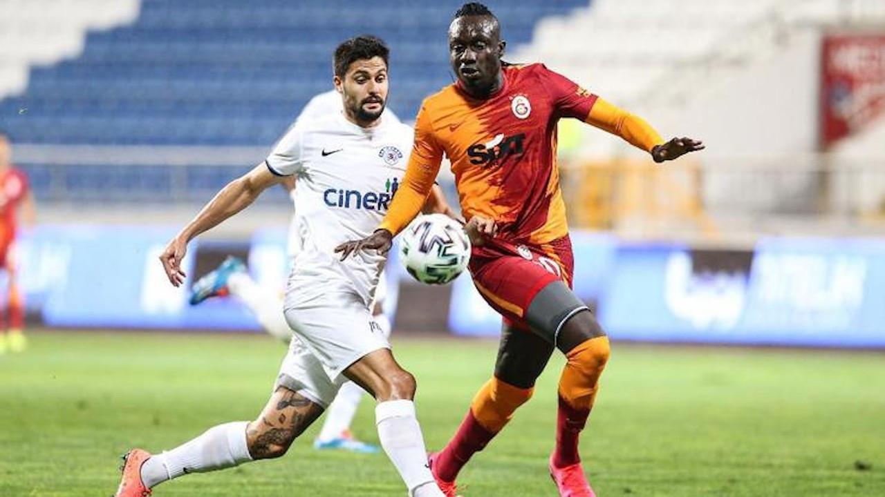 Kasımpaşa Galatasaray'ı tek golle geçti: 1-0
