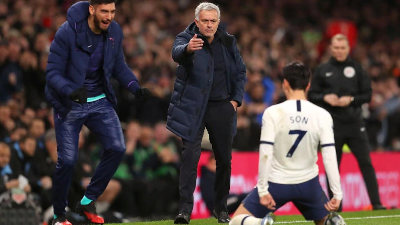 Mourinho, eski takımı Manchester United'ı farklı yendi: 6-1