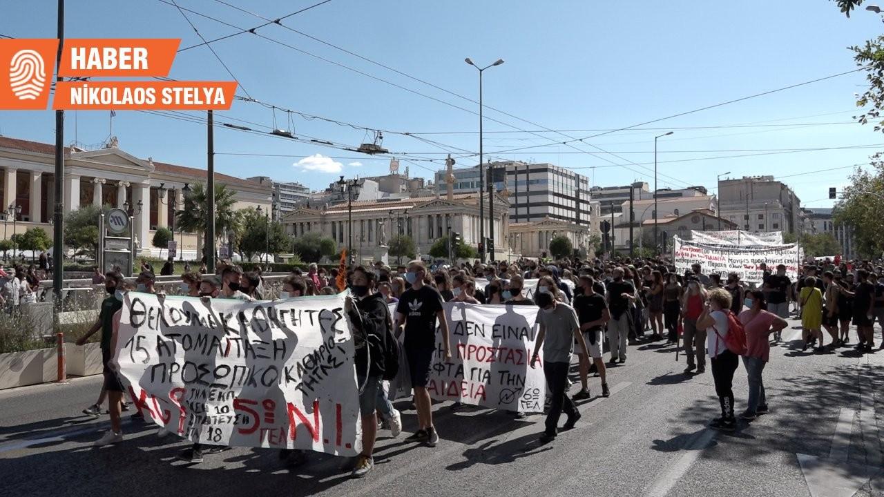 Yunanistan'da öğrenciler grevde: Ülkenin birçok yerinde eğitim kesintiye uğradı