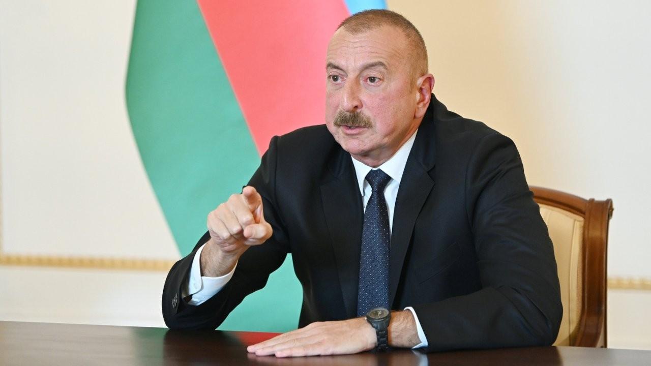 Aliyev'den Ermenistan'a yeni şart: Özür dilesinler