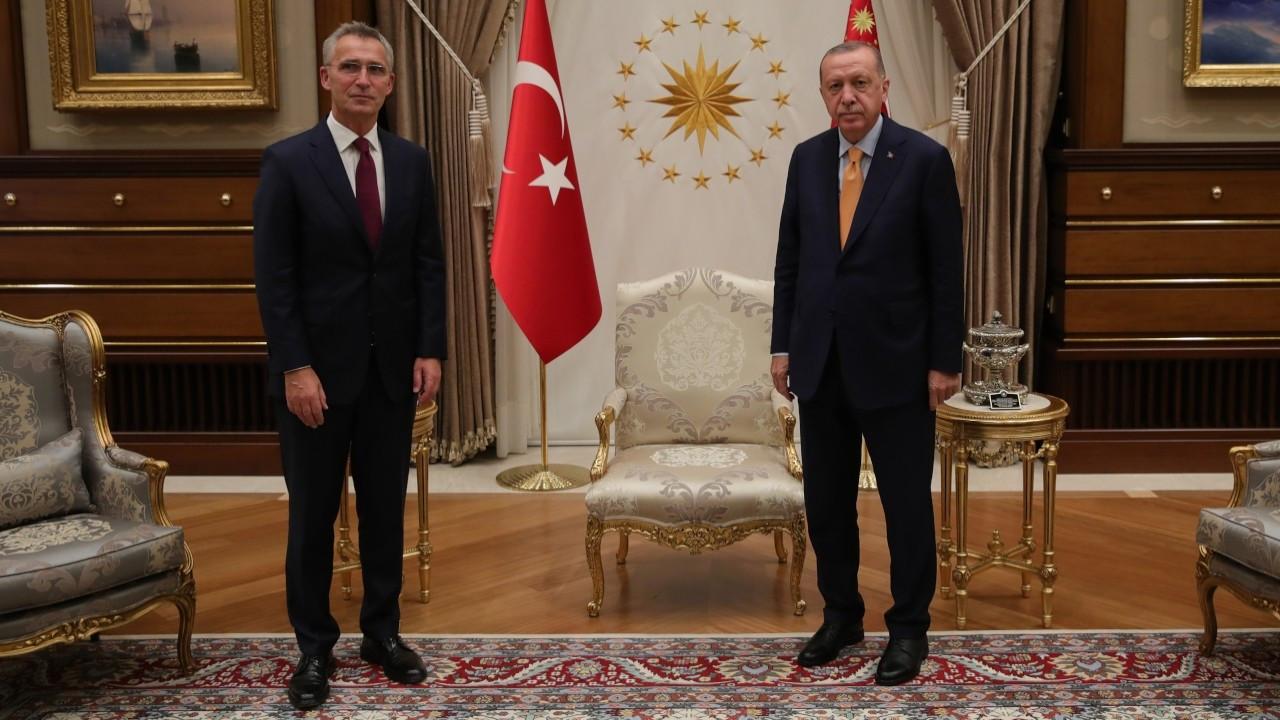Erdoğan, Stoltenberg'le görüştü: Rusya-Ukrayna krizi diyalogla çözülmeli