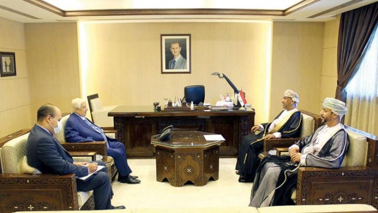 Umman sekiz yıl sonra Şam'a büyükelçi atadı