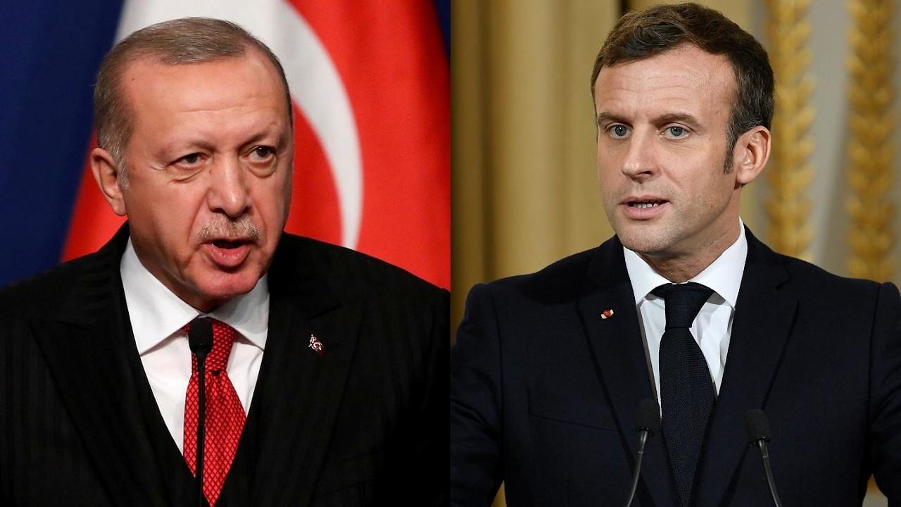Erdoğan'dan Macron'a: Sen kimsin ki hadsiz, edepsiz